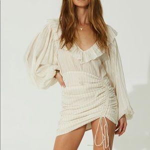 Jen's Pirate Booty Striped Vambelle Mini Dress Med